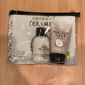 Too Cool for School Coconut Travel Kit